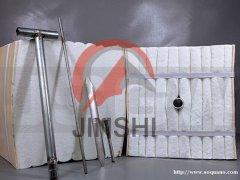 轧钢加热炉衬保温棉陶瓷纤维模块设计