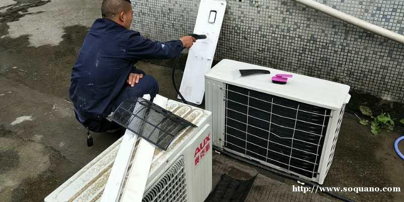 五月特惠专业清洗空调 家庭保洁 开荒保洁