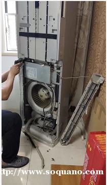 南浔正规专业的保洁公司 专业空调清洗 中央空调清洗