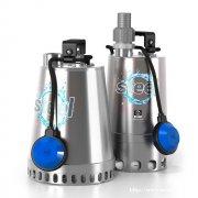 雨水泵污水提升器污水泵进口品牌泽尼特不锈钢系列潜水电泵